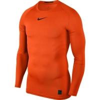 Tricou Nike Pro Top compresie maneca lunga portocaliu 838077 819 barbati