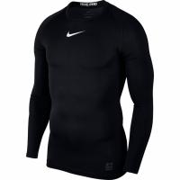 Nike Pro Top compresie maneca lunga Jersey negru 838077 010 barbati
