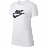 Nike Tee Essential Icon Future alb BV6169 100 femei