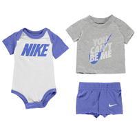 Nike You Cant Beat Me Bodysuit Set pentru baieti pentru Bebelusi