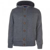 Cardigan Kangol Button cu captuseala tricot pentru Barbati