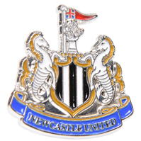 NUFC Crest Pin Badge
