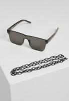 Ochelari de soare cu lant 105 negru-negru Urban Classics