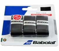 Set 3 Mansete sport BABOLAT PRO TOUR X3 negru / 138758 copii