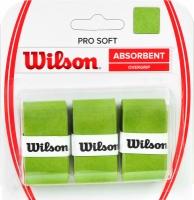 Set 3 Mansete sport WILSON PRO moi si absorbante OVERGRIP verde / WRZ4040LI