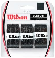 Set 3 Mansete sport WILSON PROFILE COMFORT OVERGRIP negru / / / WRZ4025