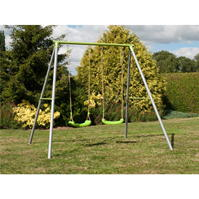 TP Toys Painted Double Swing Set