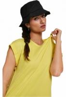Palarie vara bumbac Flexfit Twill Bucket Hat barbati negru