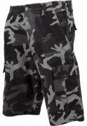 Pantalon cargo cu tur lasat urban-camuflaj Urban Classics