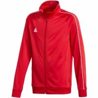 Bluza de trening adidas Core 18 PES rosu CV3579 copii teamwear adidas teamwear