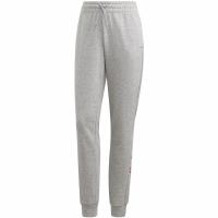Pantaloni Adidas Essentials Linear gri FM6807 pentru Femei