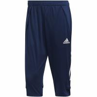 Pantaloni antrenament sport Adidas Condivo 20 34 bleumarin ED9215