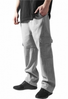 Pantaloni barbati trening cargo gri Urban Classics