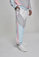 Pantaloni Bold Track alb-cool Pink Dolphin