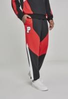 Pantaloni Bold Track negru-rosu Pink Dolphin