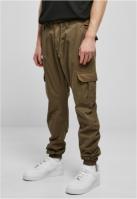 Pantaloni cargo lungi oliv