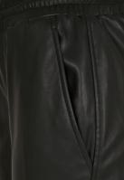 Pantaloni Cargo piele ecologica pentru Femei negru Urban Classics