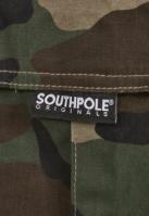 Pantaloni Cargo Southpole Camo wood-camuflaj