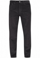 Mergi la Pantaloni Corduroy 5 cu buzunar negru Urban Classics