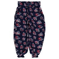 Pantaloni Crafted AOP Floral Harem Child pentru fete