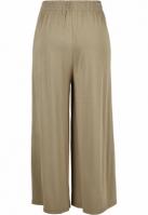 Pantaloni Culottes Modal pentru Femei kaki Urban Classics