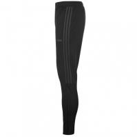 Pantaloni adidas fotbal Sereno 19 Slim negru gri carbune