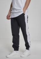 Pantaloni de trening Retro negru-alb Urban Classics