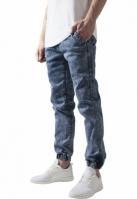 Pantaloni denim barbati acid-albastru Urban Classics
