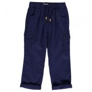 Pantaloni Firetrap Linen pentru fete pentru Bebelusi