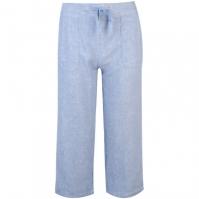 Pantaloni Full Circle Linen Cropped pentru Femei