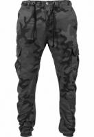 Pantaloni jogging Camo Cargo gri-camuflaj Urban Classics