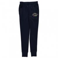 Pantaloni jogging Lonsdale cu mansete pentru fete