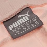 Pantaloni jogging Puma cu mansete pentru Femei roz alb