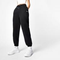 Pantaloni jogging Slazenger x Sophia & Cinzia negru
