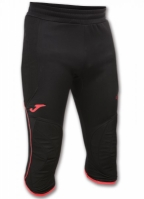 Pantaloni Joma Pirate Portar Protec negru-coral Fluor