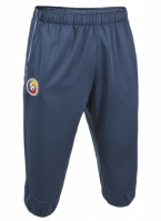 Pantaloni trei sferturi antrenament Joma echipa nationala a Romaniei albastru