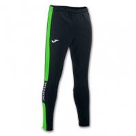Pantaloni lungi Joma Championship Iv negru-verde Fluor