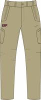 Pantaloni lungi Joma Coe maro