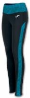 Pantaloni lungi Joma Free II negru-verde