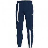 Pantaloni lungi Joma Supernova bleumarin inchis-alb