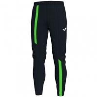 Pantaloni lungi Joma Supernova negru-fluor verde