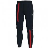 Pantaloni lungi Joma Supernova negru-rosu