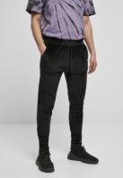 Pantaloni model tip catifea negru Urban Classics