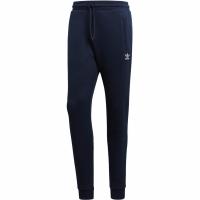 Pantaloni barbati Adidas Slim FLC bleumarin DN6011