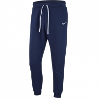 Pantaloni barbati Nike M CFD FLC TM Club 19 bleumarin AJ1468 451
