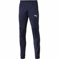 Pantaloni Pantaloni barbati Puma Liga Sideline Poly Core bleumarin 655948 06