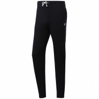 Pantaloni Pantaloni Reebok antrenament Essentials FT cu mansete negru FK6024