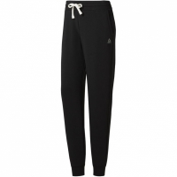 Pantaloni Pantaloni Reebok French Terry negru BS4095 femei