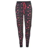 Pantaloni pijama Rock and Rags Floral cu mansete