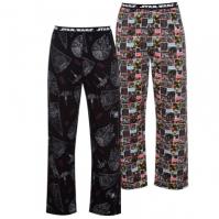 Pantaloni pijama Set 2 pentru Barbati cu personaje